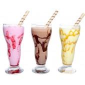 Молочный коктейль с сиропом (Клубника,Шоколад,Карамель)