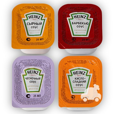 Соус Heinz  (в упаковке) 25гр.